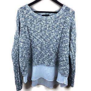 Lane Bryant Womens Sweater, Gray 18/20